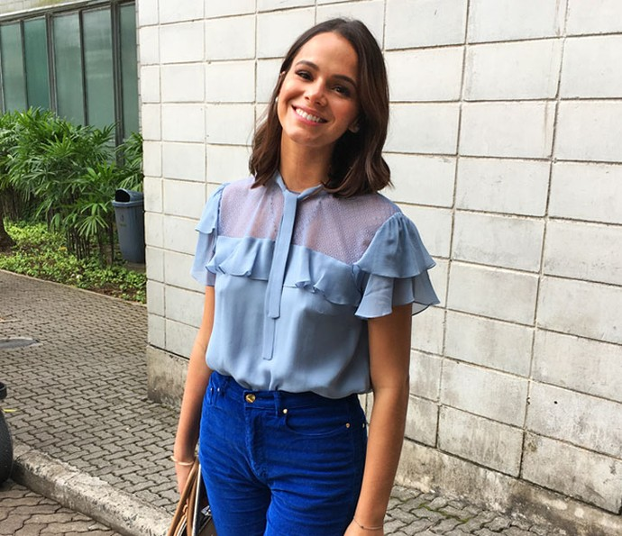 Bruna Marquezine conta curiosidades em vídeo exclusivo (Foto: Juliana Hippertt/Gshow)