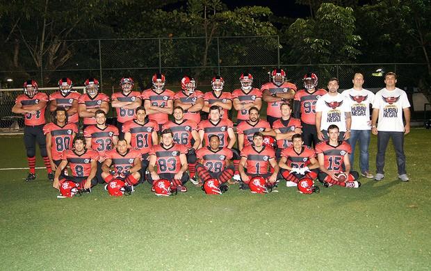 time Flamengo futebol americano (Foto: Divulgação)