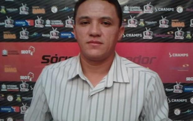 Marquinhos Mossoró, gerente de futebol do Campinense (Foto: Divulgação)