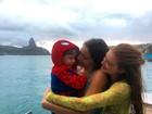 Marina Ruy Barbosa e Luma Costa posam com Antônio: 'Muito amor'