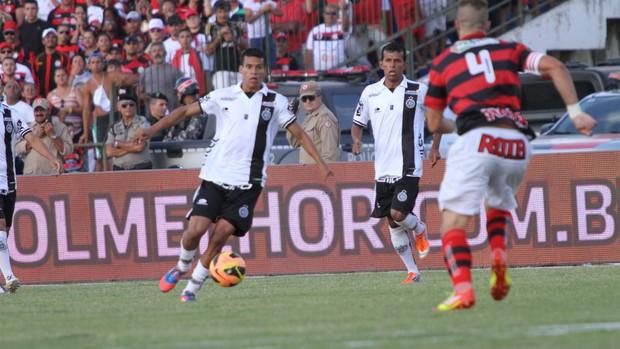 Campinense x ASA, final da Copa do Nordeste no Estádio Amigão, em Campina Grande (Foto: Globoesporte.com/pb)