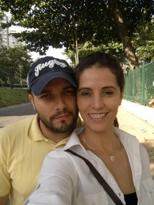 Casal de assaltantes vivia juntos há cinco anos (Foto: Divulgação 18ª DP)