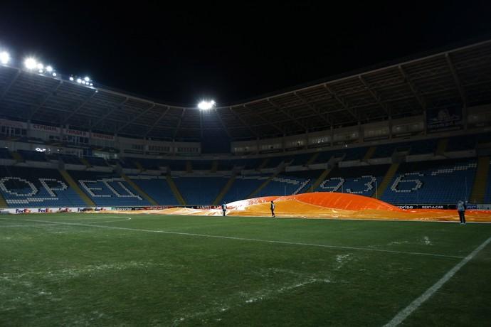 Chornomorets Stadium, Manchester United (Foto: Reuters / Peter Cziborra)