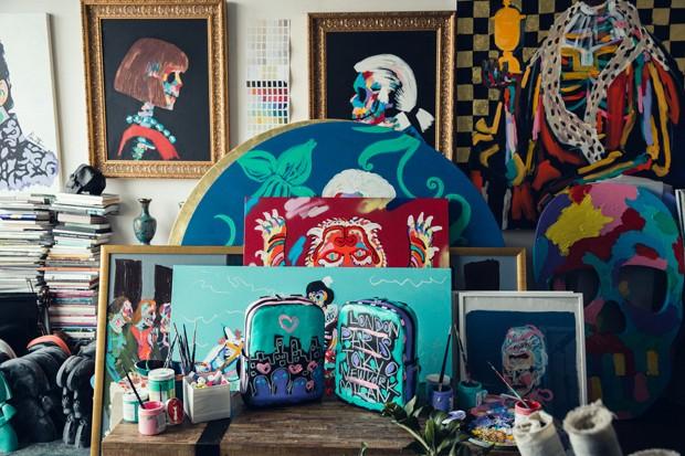 Milão 2017: Moleskine cria coleção com o artista Bradley Theodore (Foto: Divulgação)