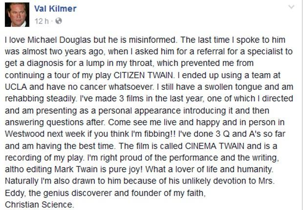 Val Kilmer (Foto: Reprodução)