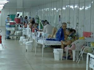 Desvios provocaram falência do sistema de saúde público, segundo procuradora (Foto: Reprodução/TV Anhanguera)