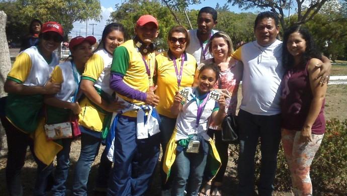 Delegação escolar do AP conquista 13 medalhas nos Jogos Paraolímpicos (Foto: Divulgação/Sedel)