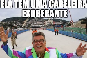 Divirta-se com comentários de Milton Cunha em forma de memes (Alexandre Durão/G1)