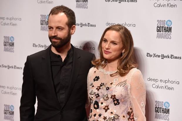 Benjamin Millepied e Natalie Portman (Foto: Matthew Eisman / AFP)