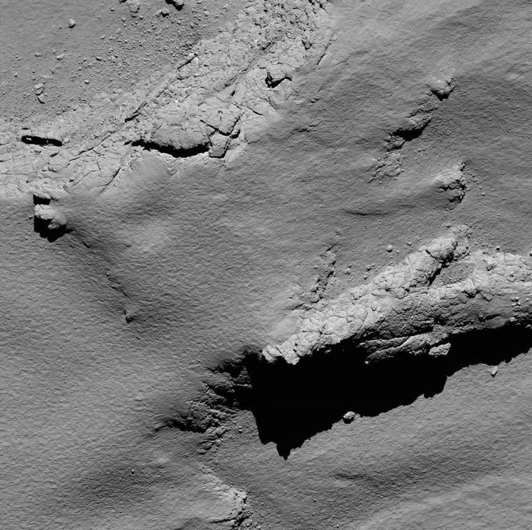 Resultado de imagem para rosetta em cometa 67p
