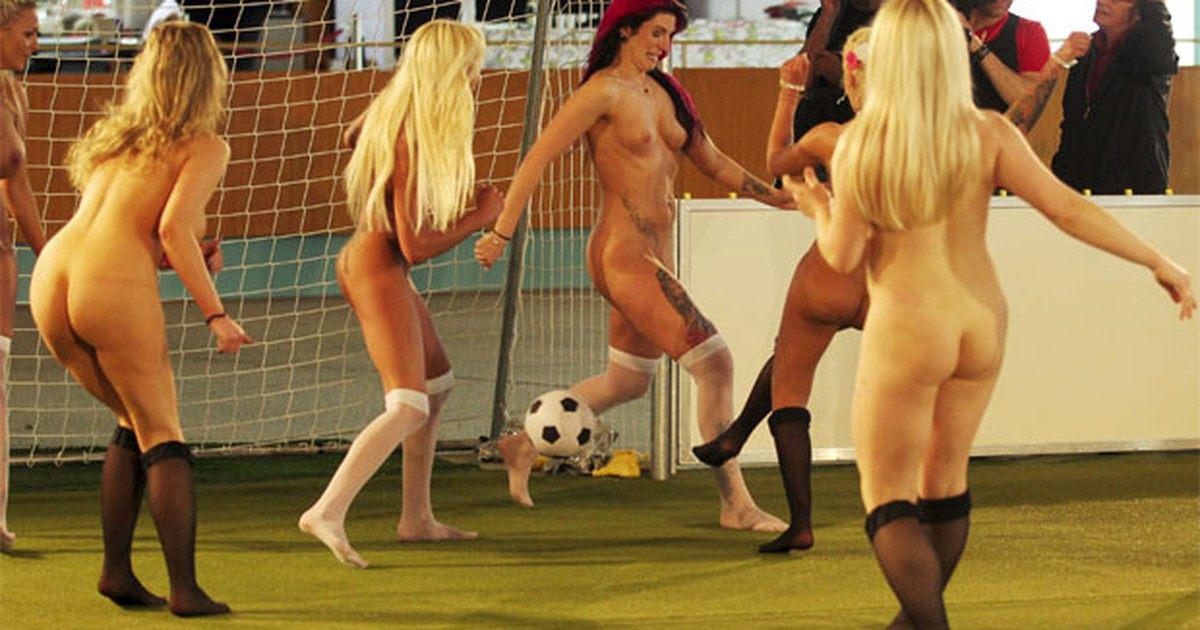 Alemanha promove 1º Campeonato Europeu de futebol com atletas nuas