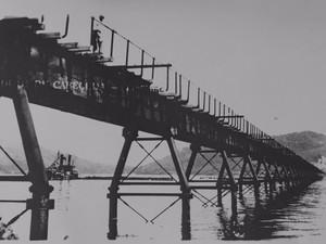 Ponte de ferro de Laguna (Foto: Blog As Mil e Uma Histórias de Laguna/Divulgação)