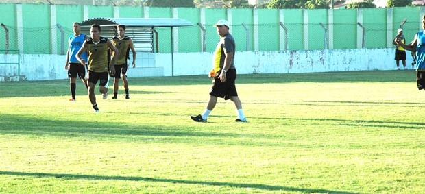 treino do botafogo-pb botafogo-pb warley marcelo vilar (Foto: Lucas Barros / Globoesporte.com/pb)