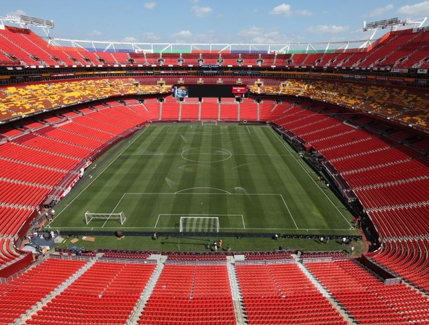 FedEx Field estádio Brasil x Estados Unidos (Foto: Mowa Press)