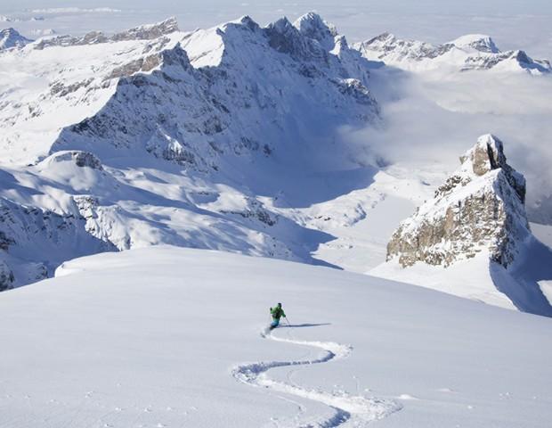 Esqui no Four Seasons Hotel Megève (Foto: reprodução)