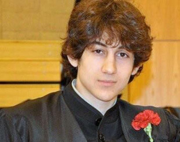 Dzhokhar A. Tsarnaev, suspeito dos atentados em Boston (Foto: Robin Young/AP)