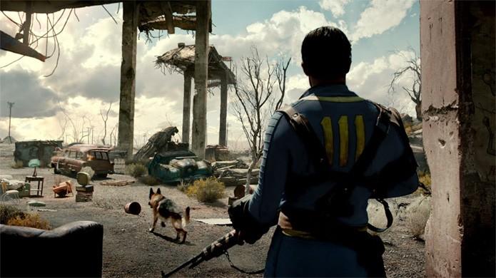 Fallout 4 coloca os jogadores como um andarilho no mundo pós-apocalíptico (Foto: Reprodução/YouTube)