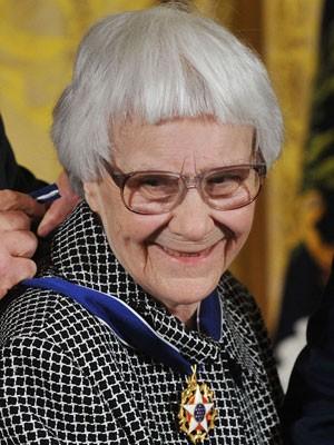 A escritora americana Harper Lee, 88, autora de 'O sol é para todos', em foto de novembro de 2007 (Foto: Mandel Ngan/AFP)