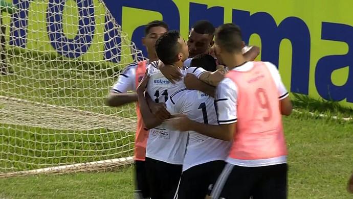 Gol Ponte Preta, Copinha (Foto: Reprodução SporTV)