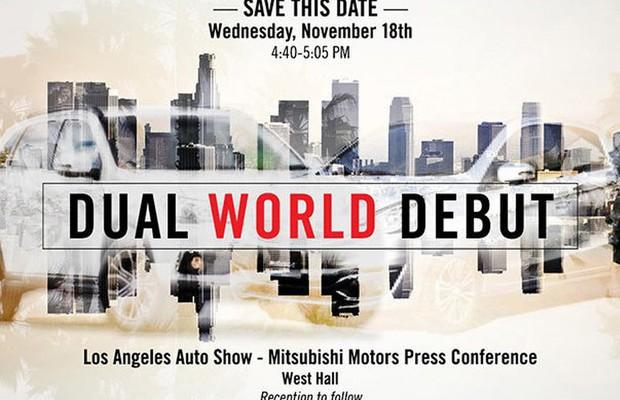 Mitsubishi anuncia duas estreias para Los Angeles (Foto: Divulgação)