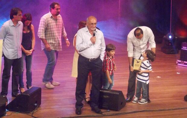 Alim Maluf foi o homenageado especial da noite (Foto: Bruno Alves)