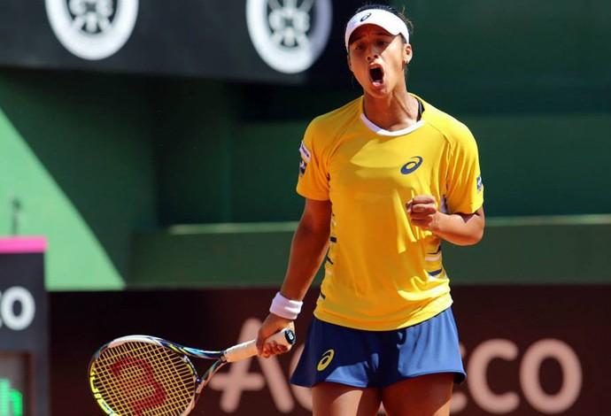 Teliana Pereira Tênis Brasil (Foto: Cristiano Andujar)