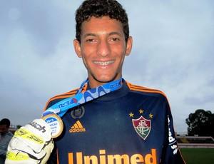 Matheus, goleiro do Fluminense Sub-20 (Foto: Vicente Seda)