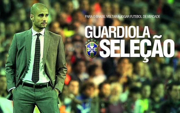 Guardiola, Seleção Brasileira (Foto: Reprodução)