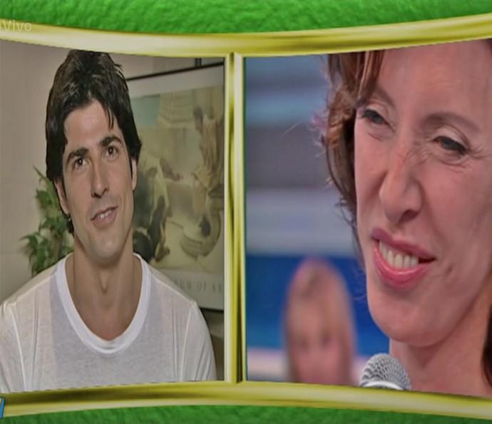 Reynando Gianecchini dá depoimento no 'Arquivo Confidencial' de Marília Gabriela (Foto: TV Globo)