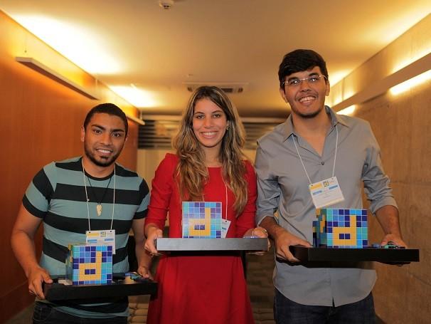 Equipe de Pernambuco venceu o Desafio Universitário Empreendedor de 2013. Além da viagem para a Espanha, ganharam experiência em gestão de negócios (Foto: Divulgação/ Rodrigo de Oliveira)