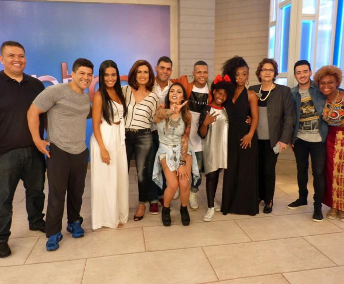 Todos os convidados do 'Encontro' (Foto: Viviane Figueiredo Neto/Gshow)