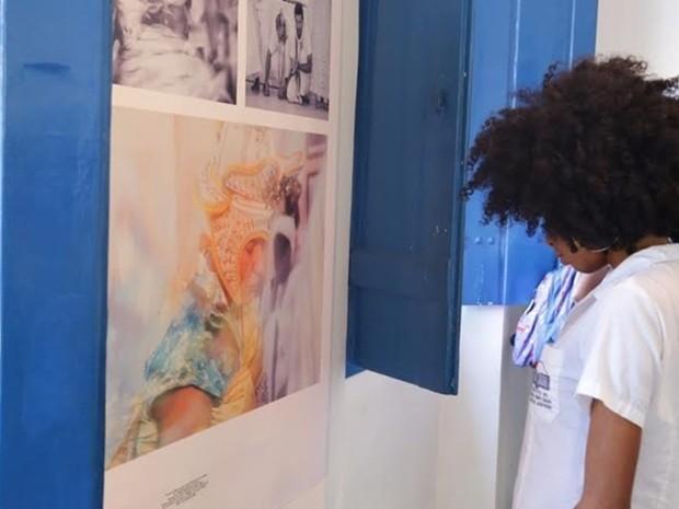Exposição apresenta fotografias de terreiros de candomblé (Foto: Ascom Cabo Frio/Divulgação)