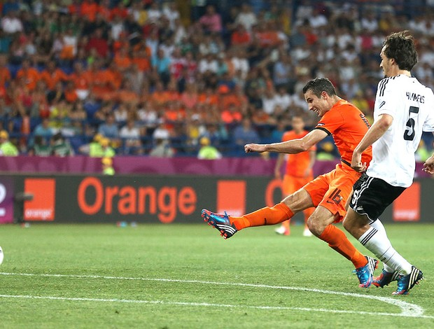 Robin van Persie, Holanda x Alemanha (Foto: Agência AFP)