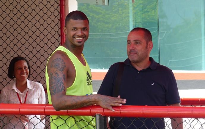 Felipe Flamengo treino Gávea (Foto: Cahê Mota)