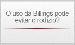 Billings - O uso da Billings pode evitar o rodízio? (Foto: Arte/G1)