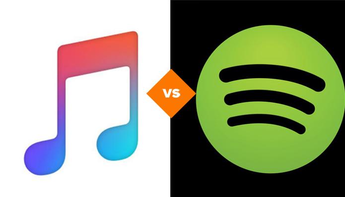 Apple Music x Spotify (Foto: Arte/TechTudo)