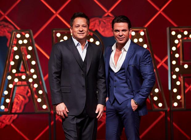 Eduardo costa e Leonardo cantam juntos em uma turnê que está agitando o Brasil! (Foto: Divulgação)