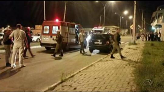 Homem é morto em frente a duas filhas em assalto no Litoral do RS