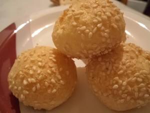 Pão de queijo de gergelim é o mais pedido (Foto: Eliane Aparecida/Arquivo Pessoal)