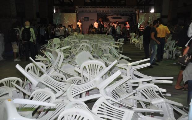 Licitação Maracanã índios (Foto: Nelson Veiga / Globoesporte.com)