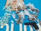 PM apreende drogas e objeto que simula arma em São Pedro da Aldeia