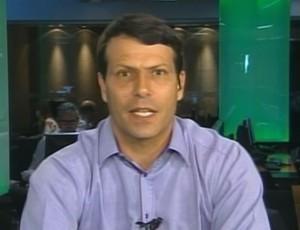 Leonardo Gaciba, comentarista de arbitragem  (Foto: Reprodução SporTV)