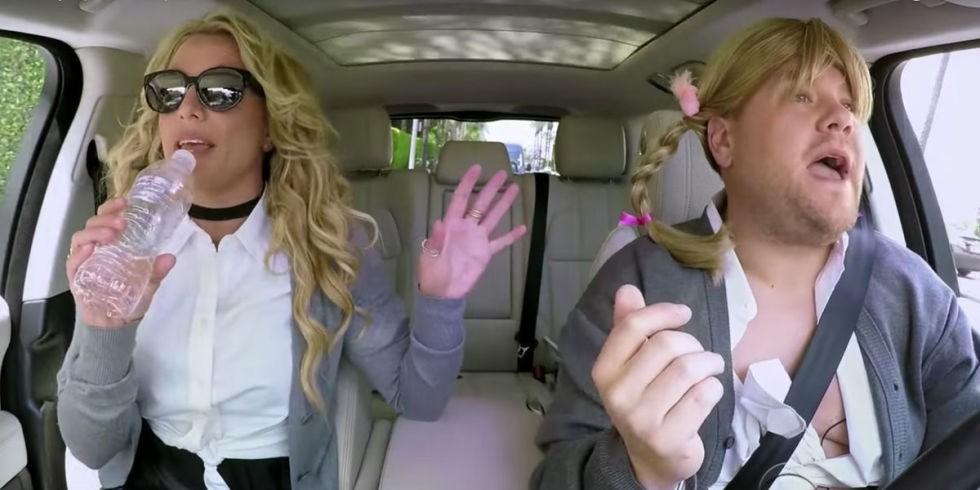Carpool Karaoke: Britney Spears canta, dança e desabafa com James Corden (Foto: Divulgação)
