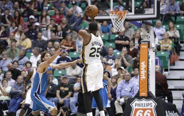 Al Jefferson, Utah Jazz - AP (Foto: AP)