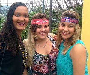 Fãs de Luan Santana chegam cedo para ver o ídolo no Festival Música Boa Ao Vivo