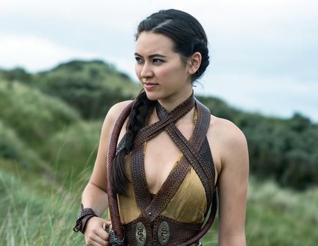 Jessica Henwick como Nymeria em Game of Thrones (Foto: reprodução )