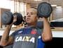 """Luis Fabiano pede paciência e revela culpa de Rodrigo: """"Vem que é bom"""""""