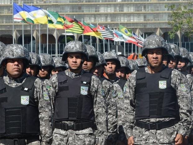Força Federal (Foto: Isaac Amorim/Agência MJ)