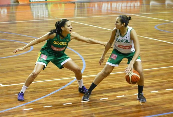 Bárbara Honório marca Tainá Paixão, garantida nos Jogos Olímpicos do Rio (Foto: Roberta Rodrigues)
