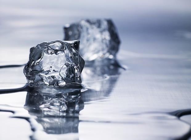 gelo, cubos de gelo (Foto: ThinkStock)